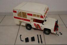 Big Jim Mattel Baja Beast Camping Jeep mit Zubehör Set
