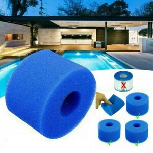 6x / 12x  Lay In Clean Spa Hot Tub S1 Washable Bio Foam VI LAZY Filter Washable
