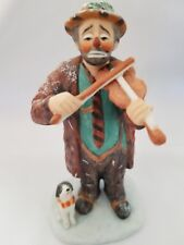 Emmett Kelly Circus Collection No.Ek-629 Chritmas Tune Figurine Limited Edition