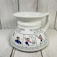 Vintage The Working Women's No Spill Mug Coffee Mug