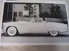 1955 FORD THUNDERBIRD TOP DOWN SIDE VIEW  11 X 17  PHOTO PICTURE