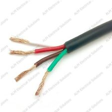 4 Core Cable - 4 x 0.75mm² Round Thinwall Auto & Marine Cable 12v 24v 14.0 Amp