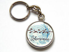 SHENMUE Classic Sega Dreamcast Video Game Quality Chrome Keyring Pic Both Sides