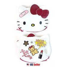 Sanrio Hello Kitty Diecut Multi Purpose Pouch Coin Purse Wallet : Patch Kitty