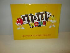 M&M'S WORLD STORE LAS VEGAS NYC ORLANDO RETAIL BAGS DEAL/20 ASST SIZES & COND