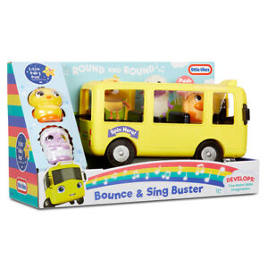 Little Baby Bum Bounce & Sing Buster the Bus and Sound from Little Tikes Ages 1+