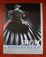 HASSELBLAD SWC/M SALES FOLD-OUT, 1985/206505