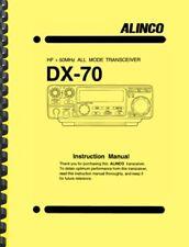 Alinco DX-70 HF + 50MHz Transceiver User Instruction Manual