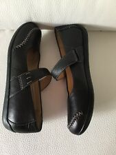 Ladies Comfort Black Leather Clarks Active Air Shoes Size 5 D