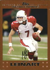 2007 Topps Copper Football Card Pick