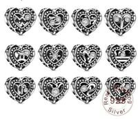 Heart Zodiac Charms Sign Celestial & Horoscope 12 Constellation Star Zodiac