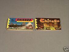 Two Chicago  Mini Souvenir Picture Books From 1964