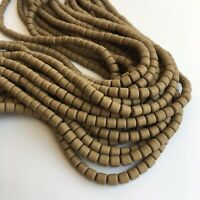 40cm Strand Khaki Brown Polymer Clay Beads 6mm Jewellery Making Craft Bead