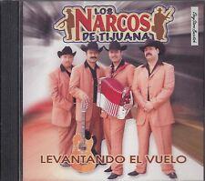 LOS NARCOS DE TIJUANA LEVANTANDO EL VUELO CD NEW SEALED