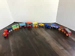 BRIO Wooden Train 11 Cars, Thomas & Friends Compatible
