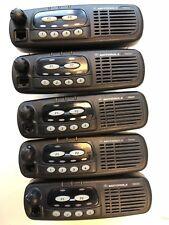 5 (five) x GM340 VHF - TEST & CLEAN - 136-174  Mhz MDM25KHC9AN1