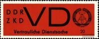 DDR DD3y (kompl.Ausg.) postfrisch 1965 Staatswappen