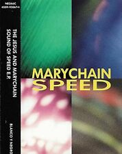 The Jesus And Mary Chain ‎Sound Of Speed E.P. CASSETTE  Alternative Rock 4 track