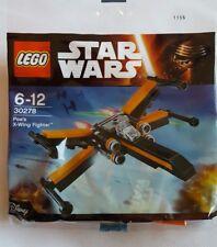 Lego Star Wars Poe' X- Wing Fighter Polybag Set 30278 BNSIP