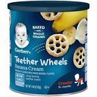 Gerber Graduates Waffle Wheels - Banana Cream - 1.48 Oz
