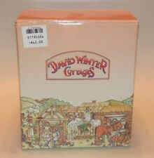 David Winter Cottages - Ashe Cottage Collectors Piece #16 1993 (MIB/COA)