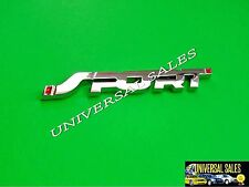 SPORT FORD ESCAPE EXPLORER EXPEDITION DOOR FENDER REAR EMBLEM BADGE CHROME NEW