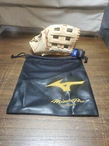 "Mizuno GMP-700DHRG Pro Baseball Glove 12.75"" Right Hand Throw With Bag"