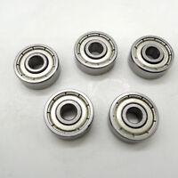 10pcs 628ZZ 8x24x8mm miniature deep groove ball bearing 8*24*8mm