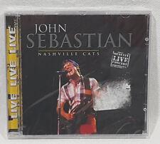 John Sebastian Nashville Cats LIVE Music CD 2001 NEW