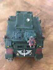 Warhammer 40k Space Marines Dark Angels Army Well Painted Rhino Tank GW Model !