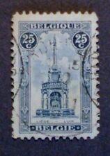 #3    BELGIUM   #123B, (18.5 X 28MM)  Rare - Used - F/VF