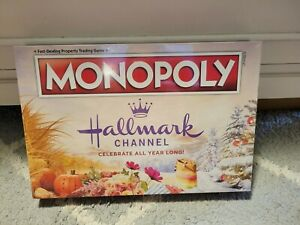 Monopoly Hallmark Channel Board Game New in Sealed Box Celebrate All Year Long