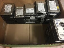 "Lotto stock 10 hard disk sata 3,5"" 250 gb 250gb seagate samsung maxtor hitachi 1"