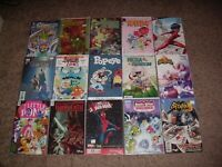 Cartoon/Kids Shows/Comics Lot Of 40 Disney+, Star Wars, Adventure Time & MORE VF