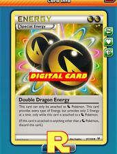 4x Double Dragon Energy - for the Pokemon TCG Online ( ptcgo in Game Card )