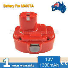 Battery For Makita 18V 18volt 1300mAh Cordless Drill 1834 1835 8390D 8391D Ni-Cd