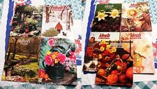 LOT OF 9 OLD VTG 1990's IDEALS MAGAZINES: THANKSGIVING/VALENTINES/MOTHERS/EASTER