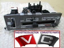 Corvette 80 81 82 A/C Heater Control Assembly Unit 1980 1981 1982 NEW Complete