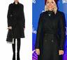 Womens Karen Millen Black Military Coat Wool Tailored Longline Jacket 8 to 16