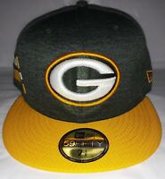 New Era GREEN BAY PACKERS NFL Sideline Collection 59Fifty Men's 7 1/2 Cap Hat