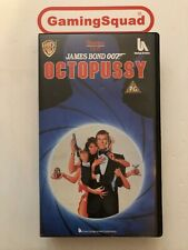 007 Octopussy (Alt) VHS Video Retro, Supplied by Gaming Squad
