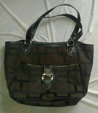 EUC Nine West Tote/Shoulder Handbag With Geometric Shapes