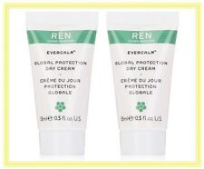REN ~ EVERCALM ~ Global Protection Day Cream 2 x15ml ~ Sensitive Skin~NEW&SEALED