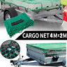 Cargo Net 2mx4m Outdoor Mesh Bungee Cord For UTE Trailer Truck Boats Dual  !!