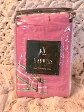 RALPH LAUREN HOME HAMPTON BEACH CLUB EURO SHAM(1)~ CANVAS PINK