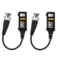 1x Paare Passive HD BNC Video Balun Transceiver Transmitter TVI/CVI/CVBS kable