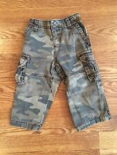 Boys Infant Toddler Carters Camouflage Camo Pants Elastic Waist 18 Months 1-2 Yr