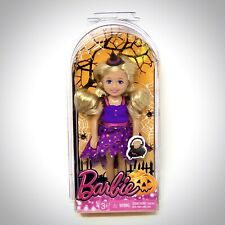 Barbie Halloween Chelsea Doll Kelly Size Witch Costume 2013 New CCH46 Blonde