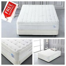Oliver Smith QUEEN 16 Inch Mattress Organic Cotton Deluxe Sleep Cool Memory Foam