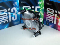 7th Gen Intel Core Series Desktop Heatsink Fan for i7 i5 i3 Processor-CPU - New